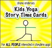 Kids Yoga Story Cards Website Banner