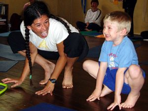 "Welcome to the ""mini yogis minute"" weekly yoga tips for teachers and parents looking to create a more fun, engaging, and effective practice for their children. Be sure to check out <a href=""/teacher/get-certified/"">mini yogis teacher training</a> for all the tricks of the trade!"