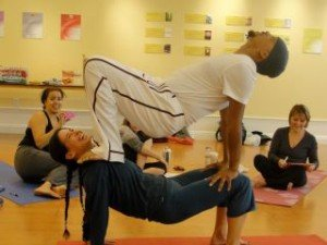teacher training yoga pose