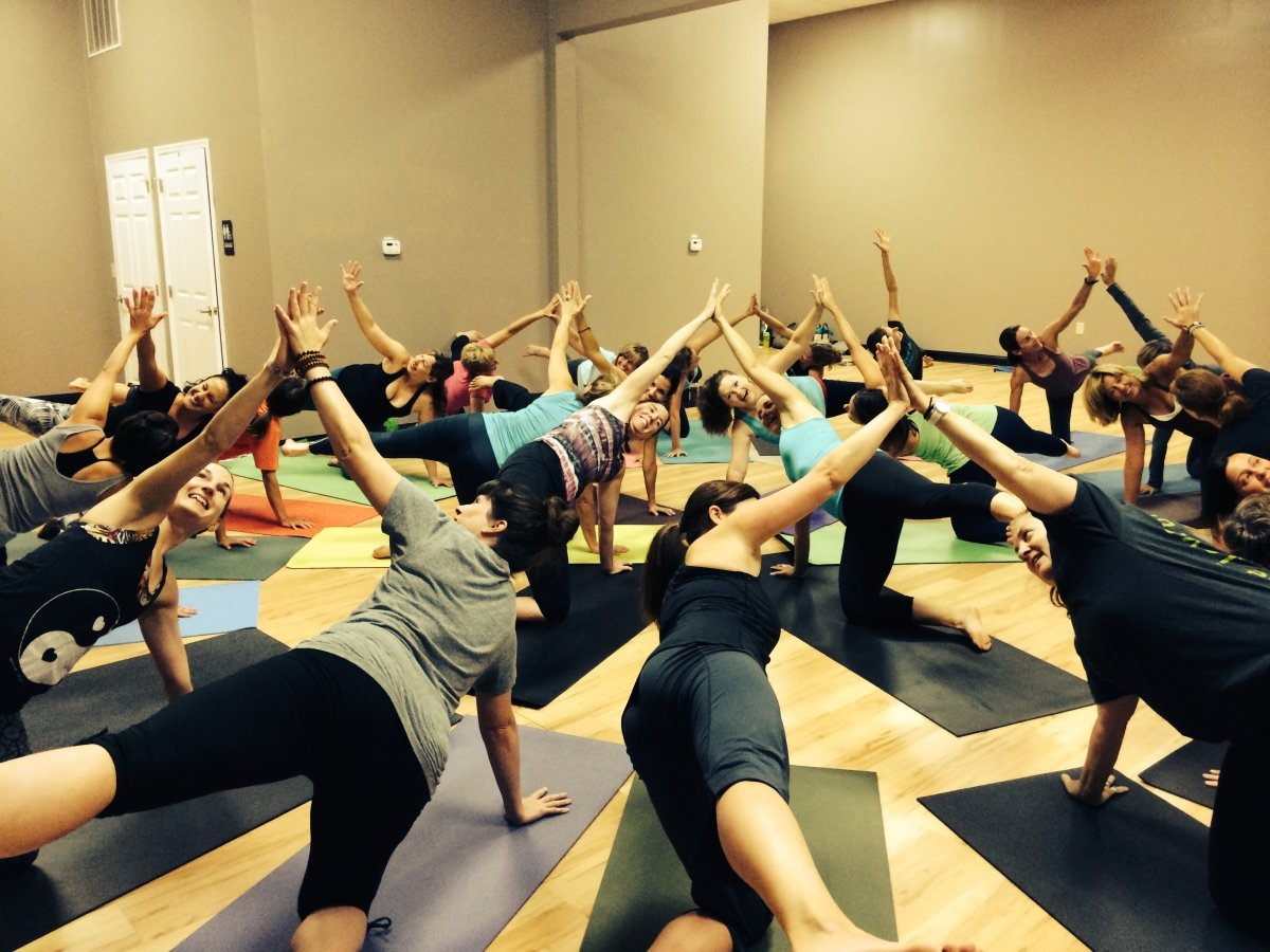 teacher training yoga pose