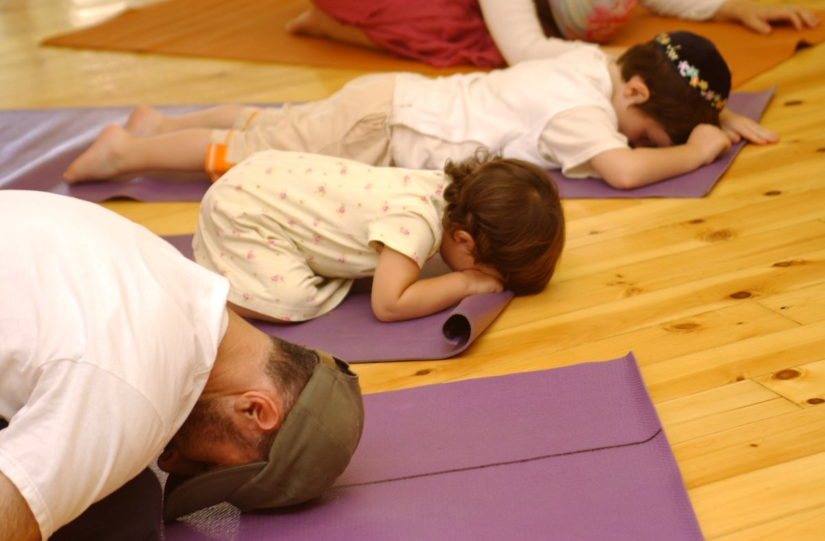 parent and me yoga
