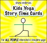 Kids Yoga Story Cards Website Banner